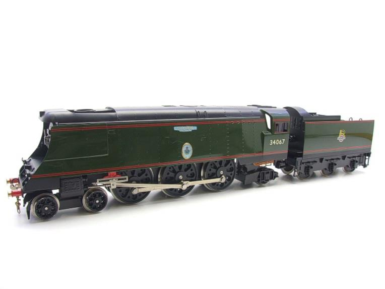 "Ace Trains O Gauge E9 Bulleid Pacific BR Green ""Tangmere"" R/N 34067 Bxd Elec 2/3 Rail image 19"