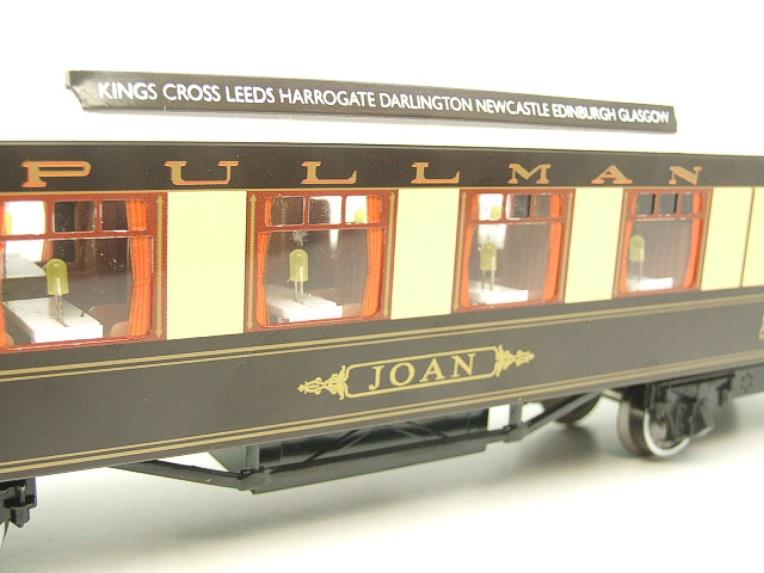"Darstaed O Gauge Kitchen 1st ""Joan"" Ivory Roof Pullman Coach Lit Interior 2/3 Rail Boxed image 11"