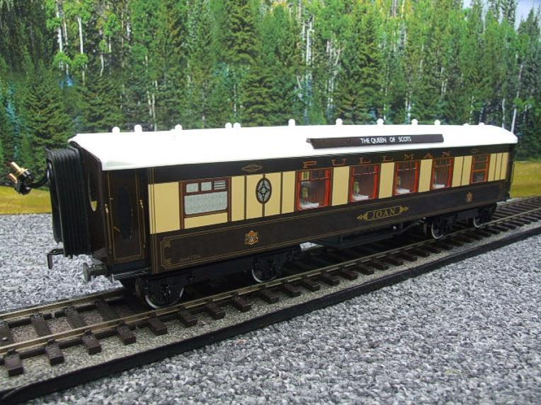 "Darstaed O Gauge Kitchen 1st ""Joan"" Ivory Roof Pullman Coach Lit Interior 2/3 Rail Boxed image 14"