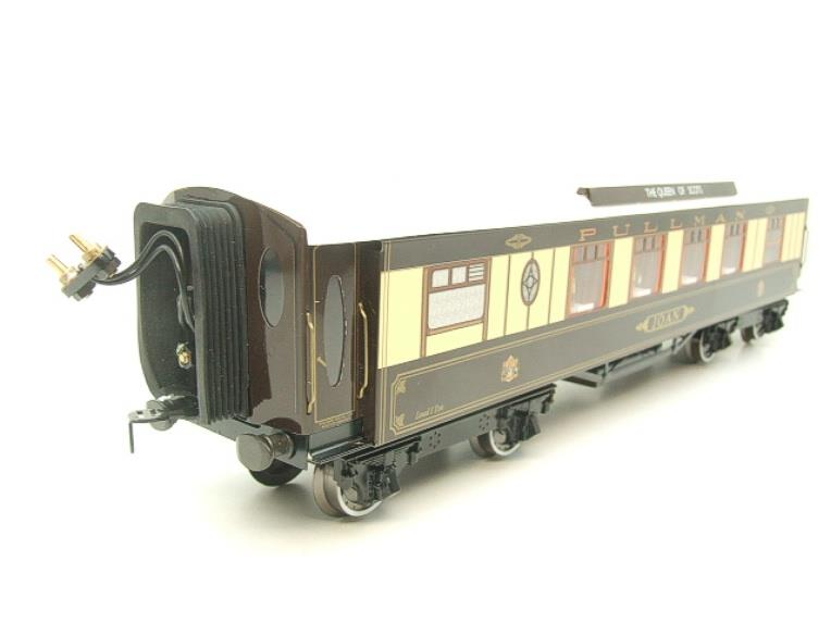 "Darstaed O Gauge Kitchen 1st ""Joan"" Ivory Roof Pullman Coach Lit Interior 2/3 Rail Boxed image 17"