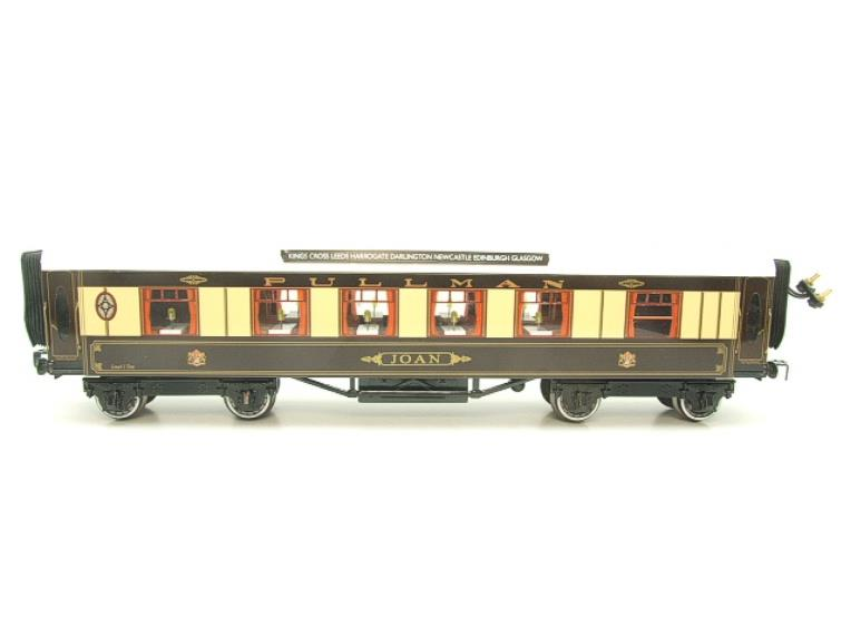 "Darstaed O Gauge Kitchen 1st ""Joan"" Ivory Roof Pullman Coach Lit Interior 2/3 Rail Boxed image 18"