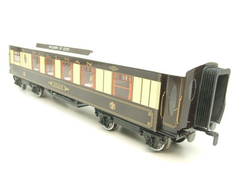"Darstaed O Gauge Kitchen 1st ""Joan"" Ivory Roof Pullman Coach Lit Interior 2/3 Rail Boxed image 19"