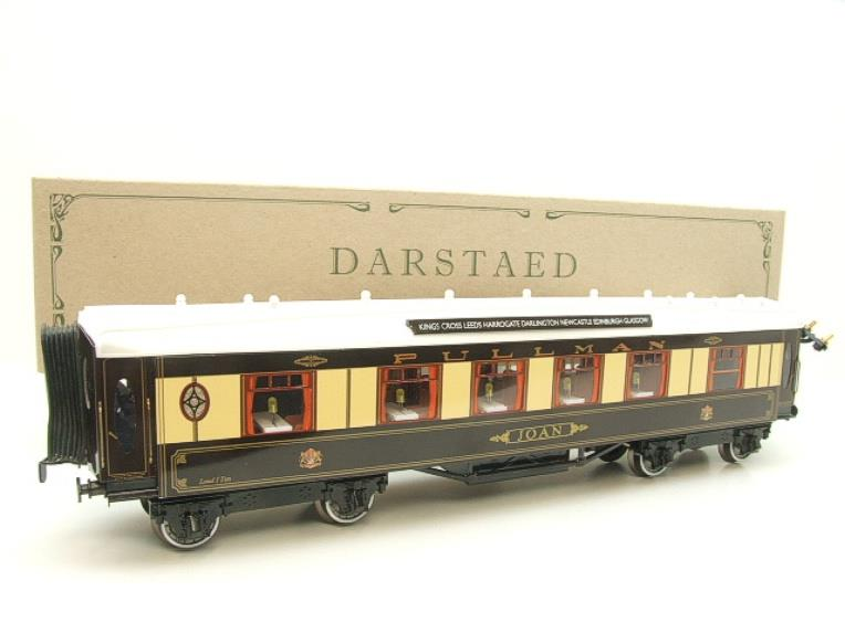 "Darstaed O Gauge Kitchen 1st ""Joan"" Ivory Roof Pullman Coach Lit Interior 2/3 Rail Boxed image 20"