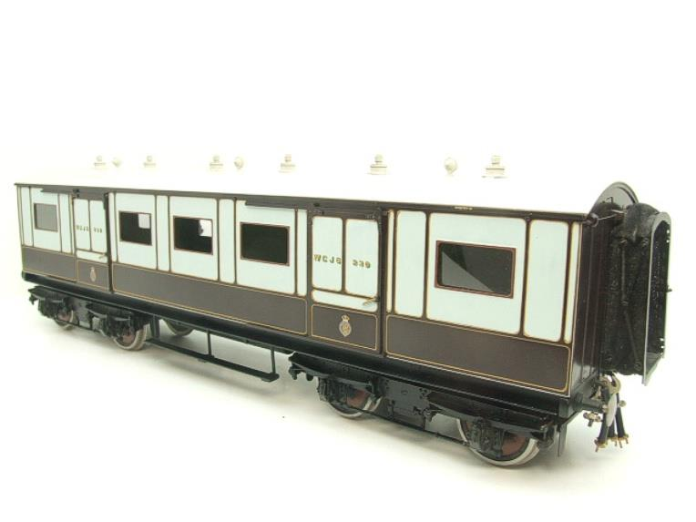 "Gauge 1 Brass The Finescale Locomotive Company WCJS ""TPO"" Coach RN 339 W/Net Apparatus Bxd image 13"
