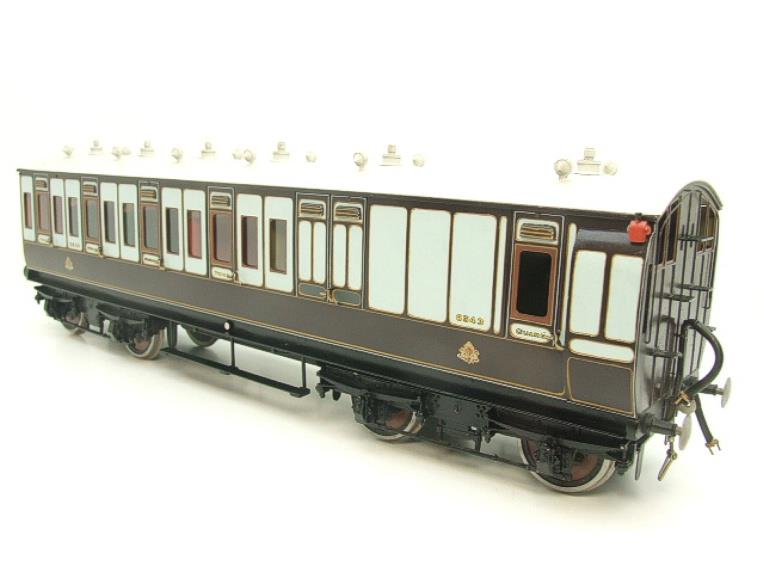 Gauge 1 Brass The Finescale Locomotive Company L&NWR Non Corridor 3rd Class Brake Coach R/N 6543 Bxd image 14