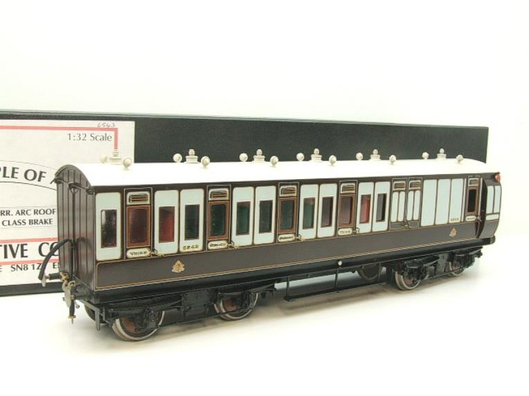 Gauge 1 Brass The Finescale Locomotive Company L&NWR Non Corridor 3rd Class Brake Coach R/N 6543 Bxd image 15