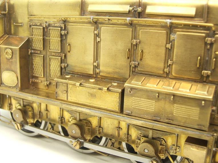 Sancheng Finescale Brass O Gauge 08 Shunter Diesel Loco Electric 2 Rail image 13