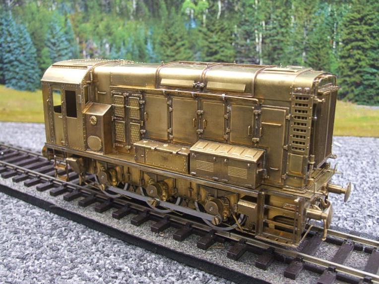 Sancheng Finescale Brass O Gauge 08 Shunter Diesel Loco Electric 2 Rail image 17