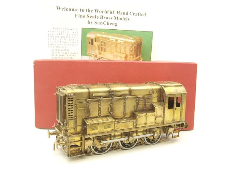 Sancheng Finescale Brass O Gauge 08 Shunter Diesel Loco Electric 2 Rail image 20