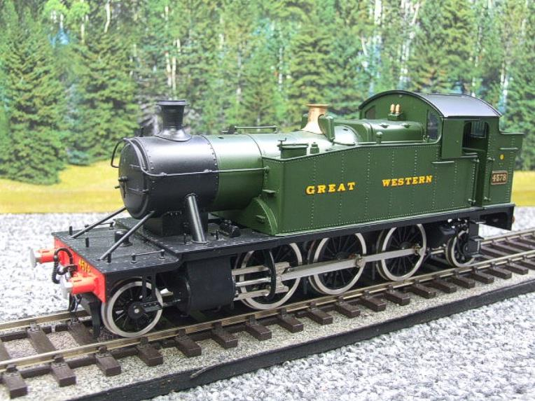 "Sancheng O Gauge Finescale Brass ""Great Western"" Prairie 2-6-2 Tank Loco R/N 4578 Electric 2 Rail image 12"