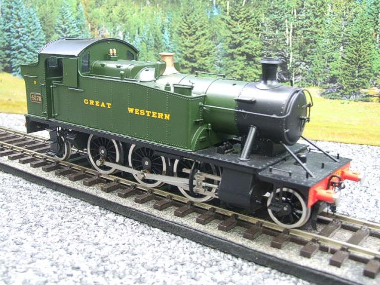"Sancheng O Gauge Finescale Brass ""Great Western"" Prairie 2-6-2 Tank Loco R/N 4578 Electric 2 Rail image 17"