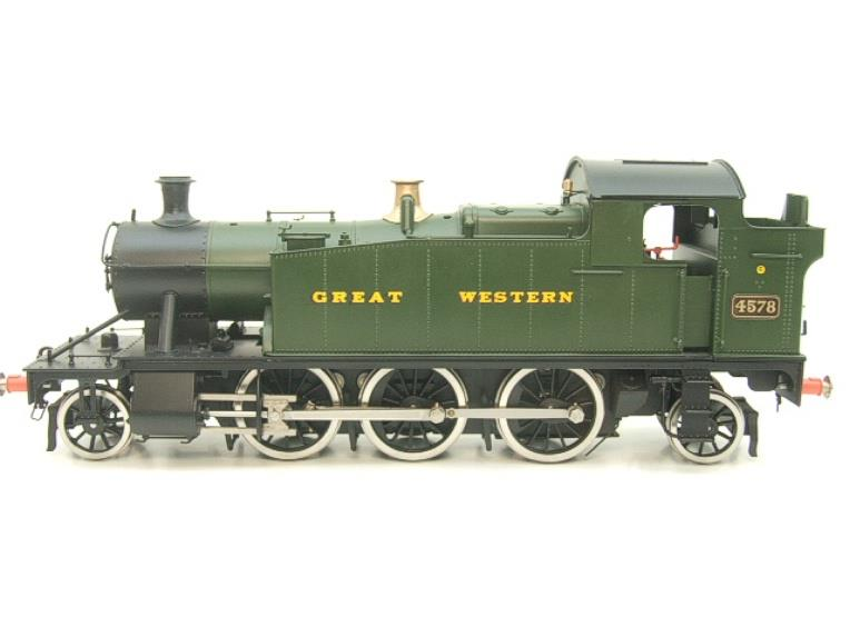 "Sancheng O Gauge Finescale Brass ""Great Western"" Prairie 2-6-2 Tank Loco R/N 4578 Electric 2 Rail image 19"