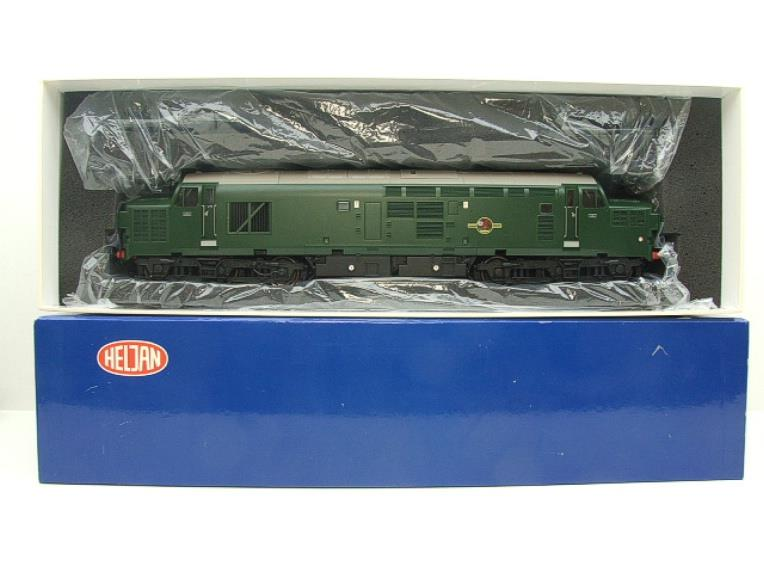 HelJan Ltd Ed Tower Models O Gauge 3702 Class 37 BR Green Railfreight Diesel Loco Un-Numbered image 17