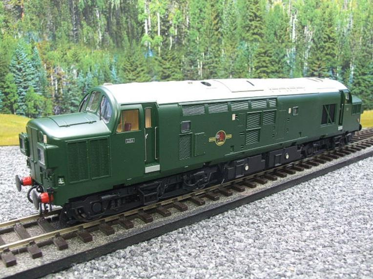 HelJan Ltd Ed Tower Models O Gauge 3702 Class 37 BR Green Railfreight Diesel Loco Un-Numbered image 18