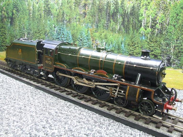 "O Gauge Solid Brass BR Jubilee 6P Class 4-6-0 ""Fearless"" R/N 45723 Electric 3 Rail image 14"