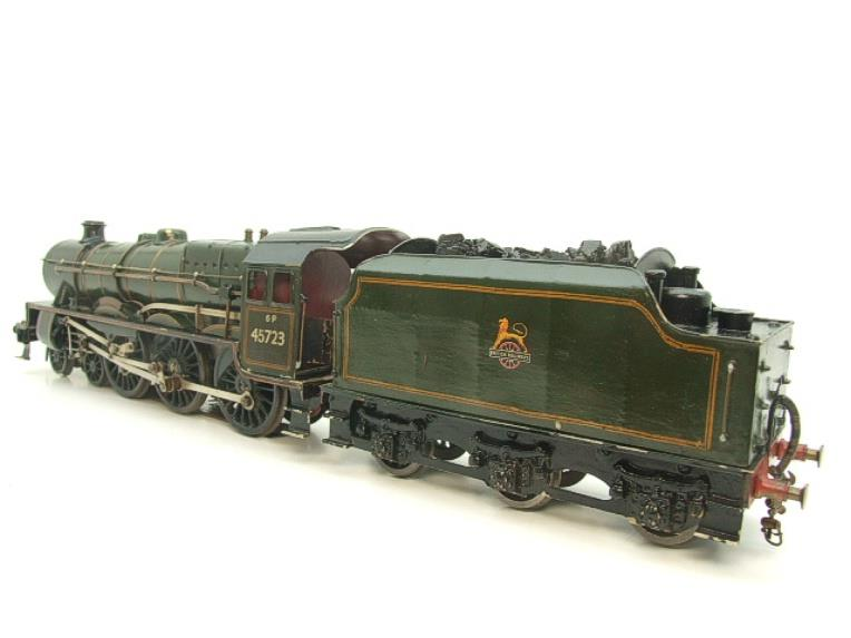 "O Gauge Solid Brass BR Jubilee 6P Class 4-6-0 ""Fearless"" R/N 45723 Electric 3 Rail image 16"