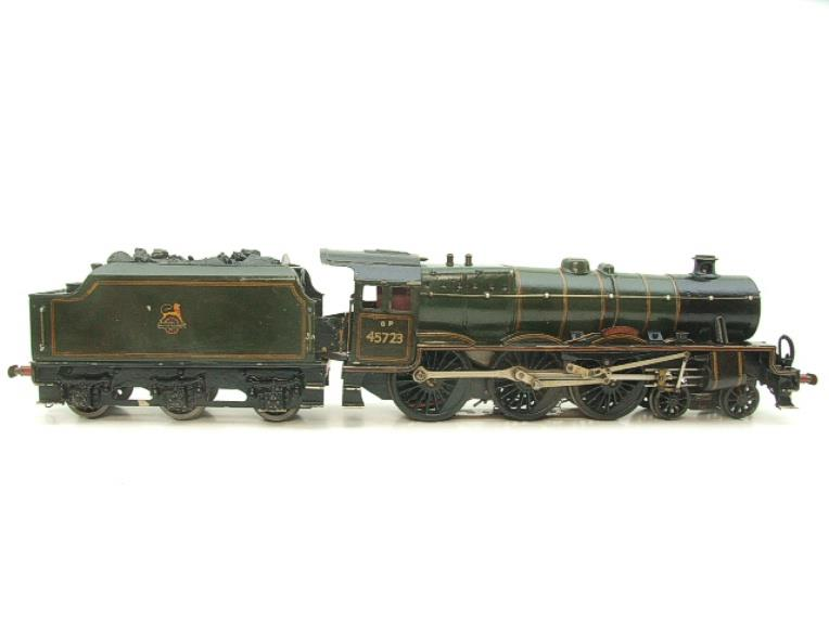 "O Gauge Solid Brass BR Jubilee 6P Class 4-6-0 ""Fearless"" R/N 45723 Electric 3 Rail image 17"
