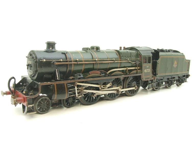 "O Gauge Solid Brass BR Jubilee 6P Class 4-6-0 ""Fearless"" R/N 45723 Electric 3 Rail image 18"