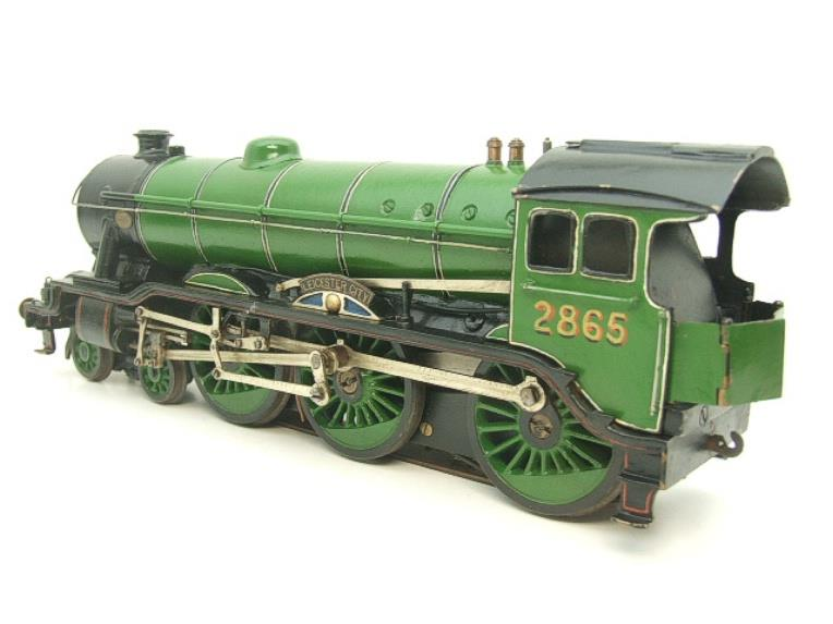 "O Gauge Solid Brass LNER B17/4 Class 4-6-0 ""Leicester City"" R/N 2865 Electric 3 Rail image 11"