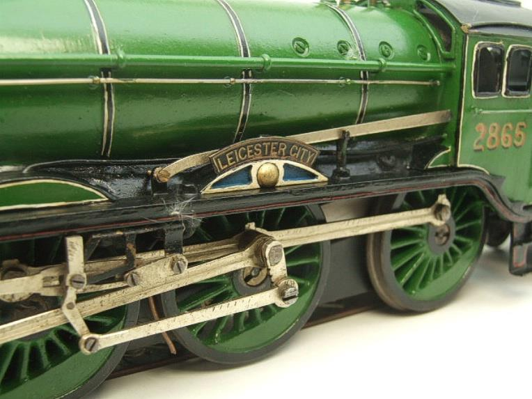 "O Gauge Solid Brass LNER B17/4 Class 4-6-0 ""Leicester City"" R/N 2865 Electric 3 Rail image 15"