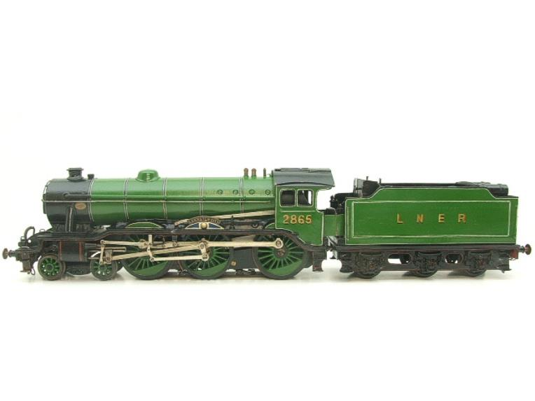 "O Gauge Solid Brass LNER B17/4 Class 4-6-0 ""Leicester City"" R/N 2865 Electric 3 Rail image 16"