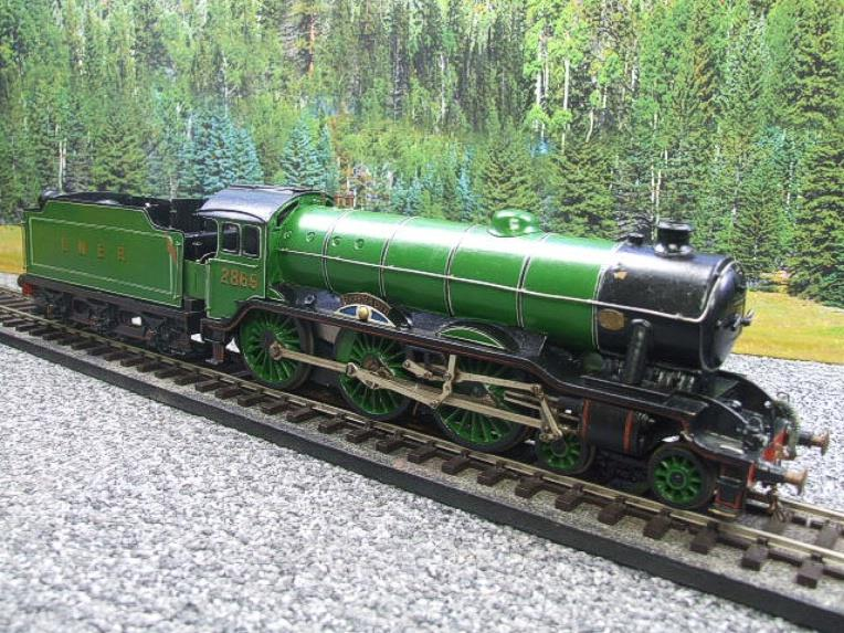 "O Gauge Solid Brass LNER B17/4 Class 4-6-0 ""Leicester City"" R/N 2865 Electric 3 Rail image 18"