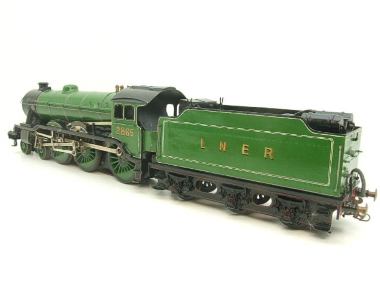 "O Gauge Solid Brass LNER B17/4 Class 4-6-0 ""Leicester City"" R/N 2865 Electric 3 Rail image 19"