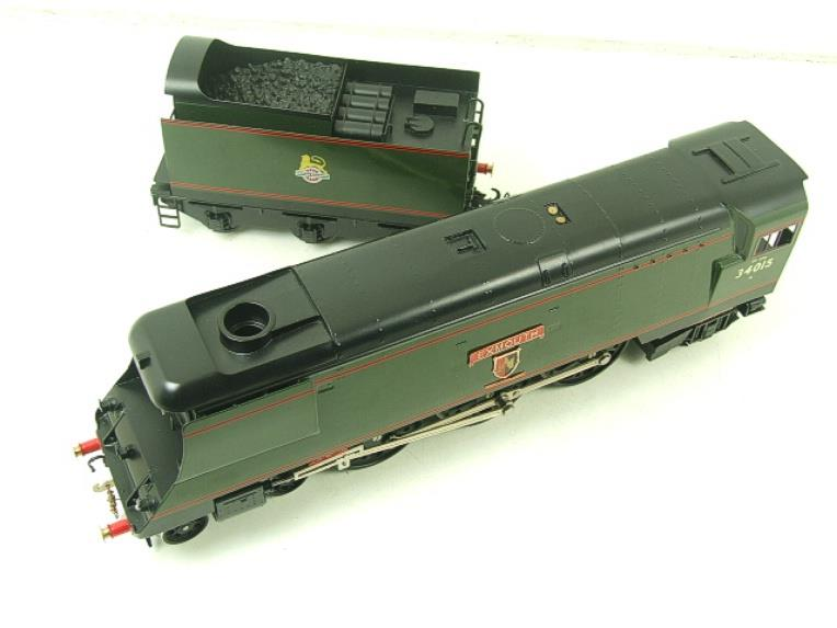 "Ace Trains O Gauge E9 Bulleid Pacific BR ""Exmouth"" R/N 34015 Electric 2/3 Rail Bxd image 14"