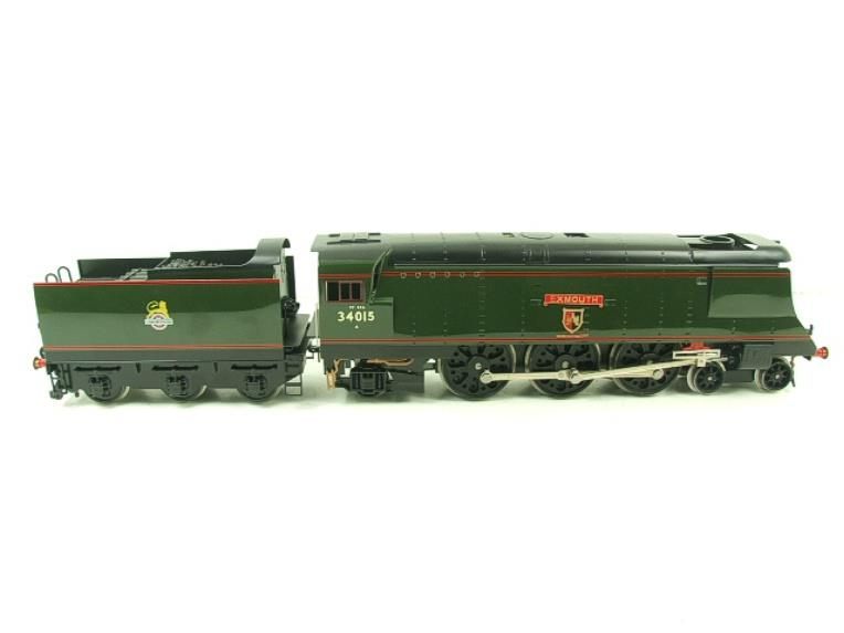 "Ace Trains O Gauge E9 Bulleid Pacific BR ""Exmouth"" R/N 34015 Electric 2/3 Rail Bxd image 15"