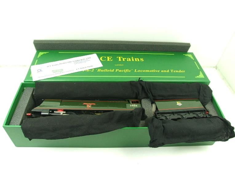 "Ace Trains O Gauge E9 Bulleid Pacific BR ""Exmouth"" R/N 34015 Electric 2/3 Rail Bxd image 18"