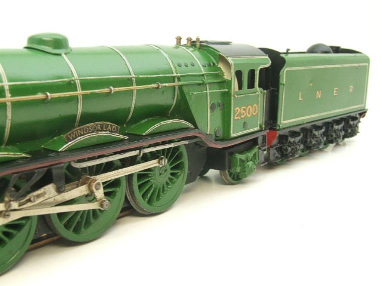 "O Gauge Solid Brass LNER A3 Class 4-6-2 ""Windsor Lad"" R/N 2500 Electric 3 Rail image 12"