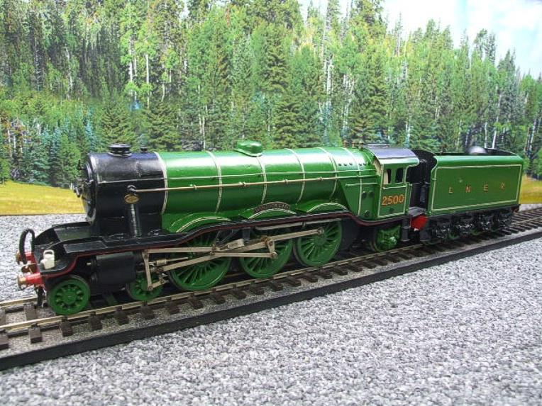 "O Gauge Solid Brass LNER A3 Class 4-6-2 ""Windsor Lad"" R/N 2500 Electric 3 Rail image 20"