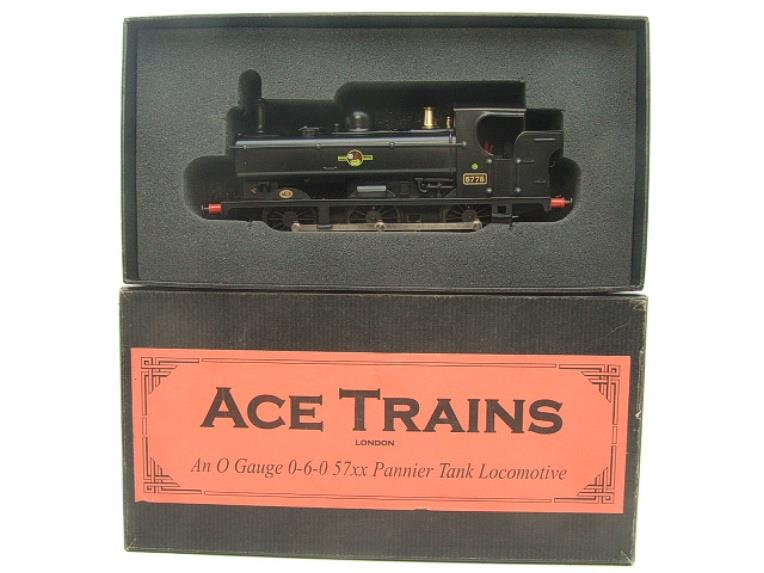Ace Trains O Gauge E21E BR Post 56 Black 57xx Pannier Tank Loco R/N 5775 Electric Boxed image 15