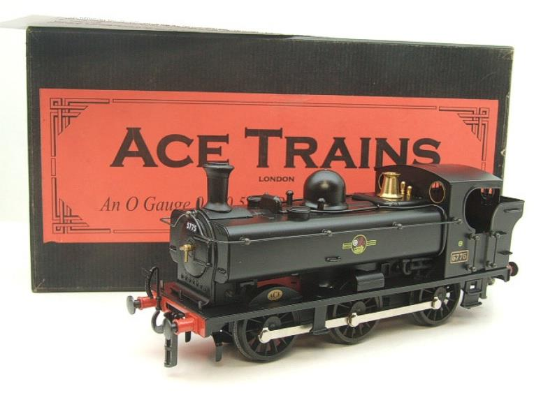 Ace Trains O Gauge E21E BR Post 56 Black 57xx Pannier Tank Loco R/N 5775 Electric Boxed image 20