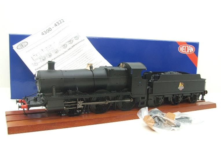 Heljan Tower Models O Gauge Item 4321 BR Black Early Crest Class 43xx Mogul Loco & Tender Electric image 15