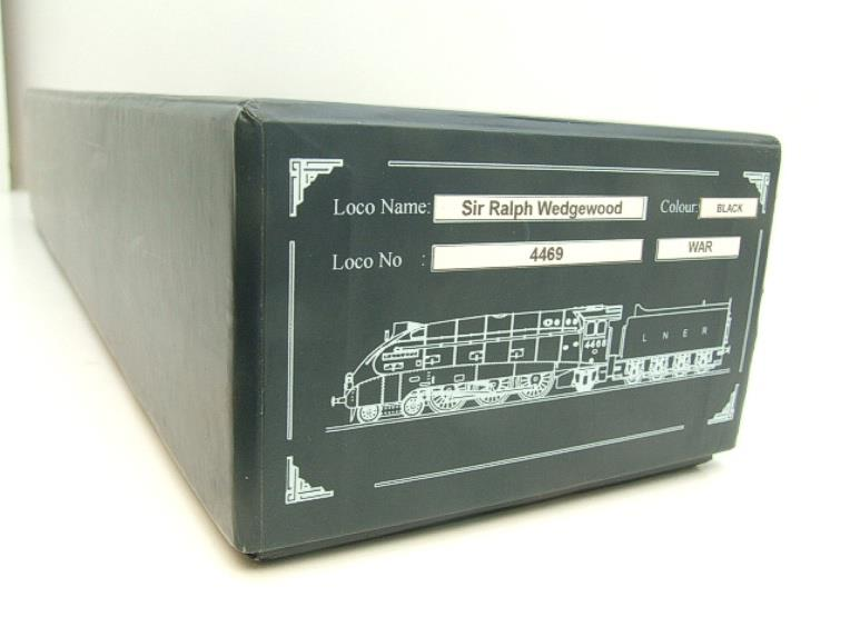 "Ace Trains O Gauge E4 NE Black A4 Pacific ""Sir Ralph Wedgewood"" R/N 4469 Electric 3 Rail Boxed image 19"