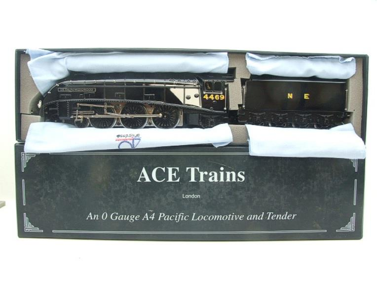 "Ace Trains O Gauge E4 NE Black A4 Pacific ""Sir Ralph Wedgewood"" R/N 4469 Electric 3 Rail Boxed image 20"