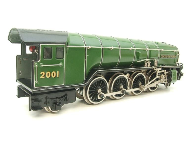 "Hehr O Gauge L70-12920 LNER ""2001"" Cock O The North"" 2-8-2 Loco & Tender Electric 20v 3 Rail image 14"
