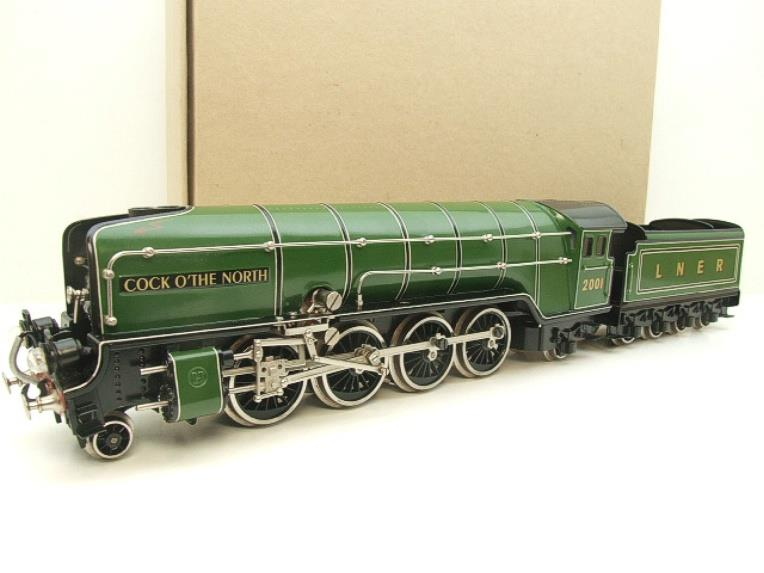"Hehr O Gauge L70-12920 LNER ""2001"" Cock O The North"" 2-8-2 Loco & Tender Electric 20v 3 Rail image 22"