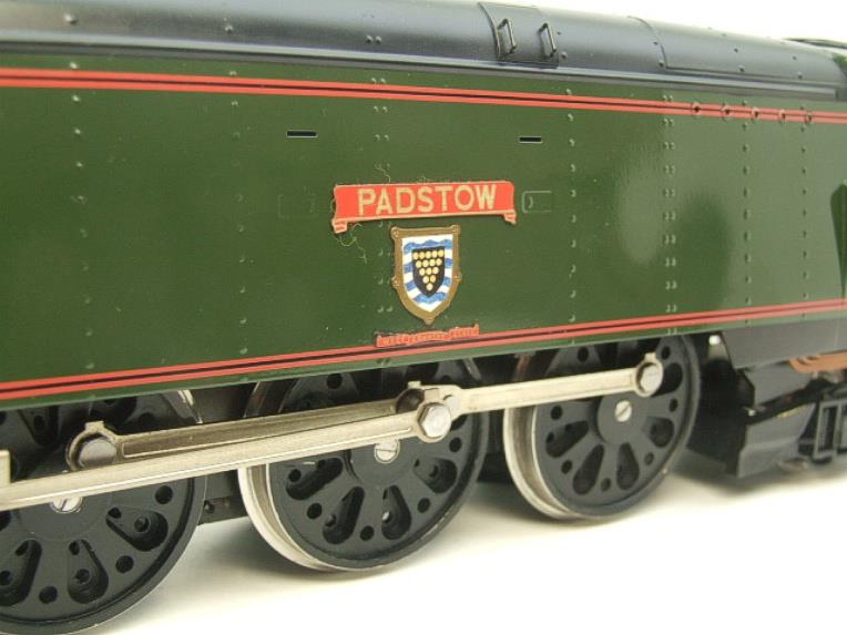"Ace Trains O Gauge E9 Bulleid Pacific BR ""Padstow"" R/N 34008 Electric 2/3 Rail Bxd image 16"