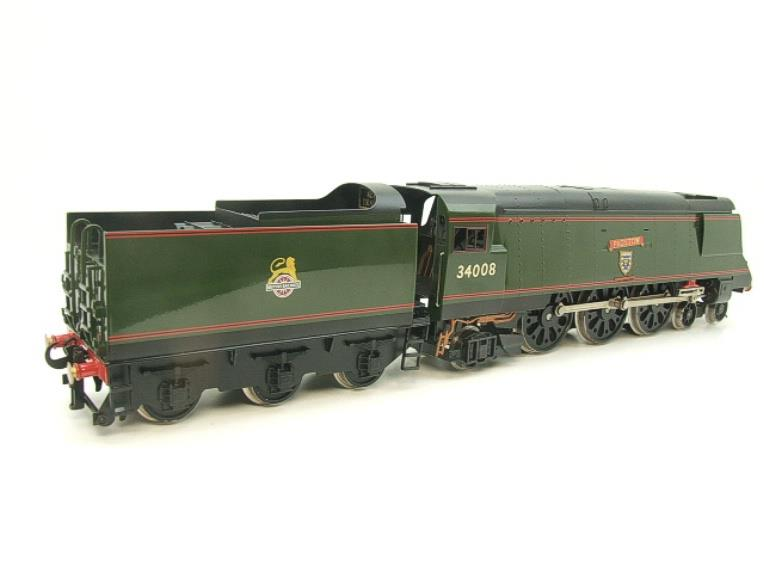 "Ace Trains O Gauge E9 Bulleid Pacific BR ""Padstow"" R/N 34008 Electric 2/3 Rail Bxd image 20"