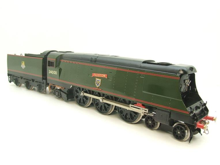 "Ace Trains O Gauge E9 Bulleid Pacific BR ""Padstow"" R/N 34008 Electric 2/3 Rail Bxd image 21"