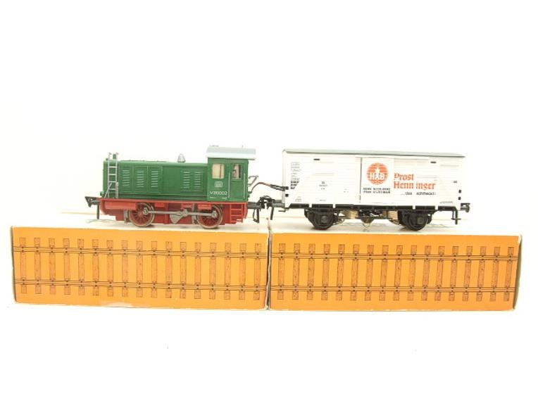 Pola Maxi/Lima/Rivarossi O Gauge DB Diesel Shunter Loco & Beer Wagon Electric 3 Rail Boxed image 13