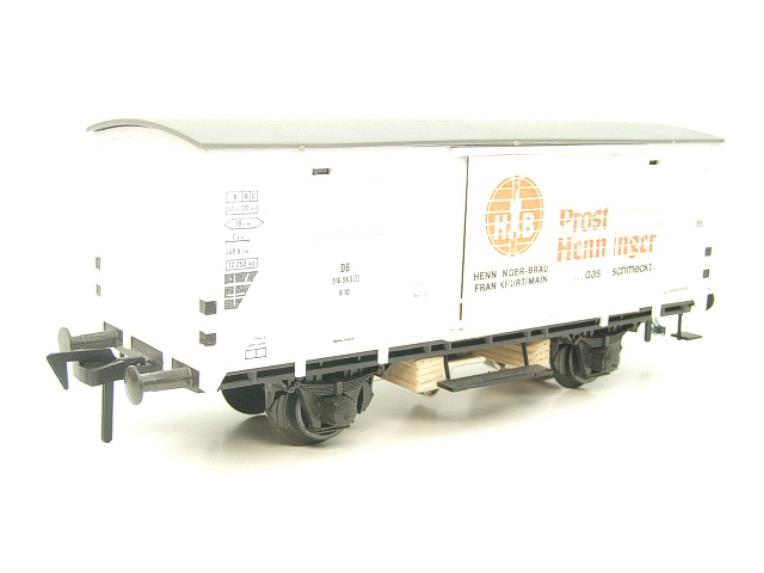 Pola Maxi/Lima/Rivarossi O Gauge DB Diesel Shunter Loco & Beer Wagon Electric 3 Rail Boxed image 18