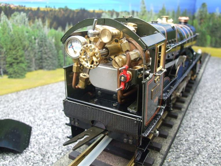 "Gauge 1 Aster GWR King Class ""King George V"" R/N 6000 Live Steam Boxed image 14"