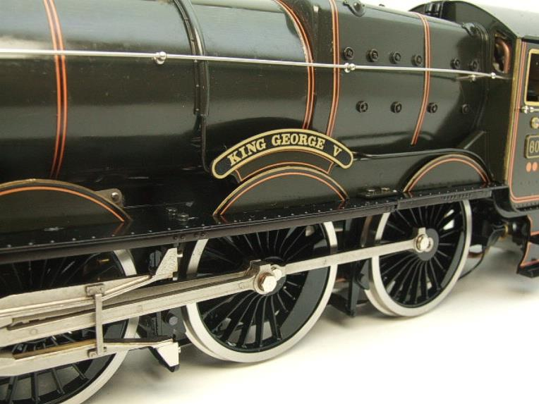 "Gauge 1 Aster GWR King Class ""King George V"" R/N 6000 Live Steam Boxed image 18"