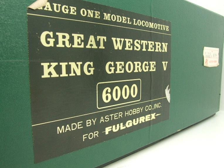 "Gauge 1 Aster GWR King Class ""King George V"" R/N 6000 Live Steam Boxed image 20"