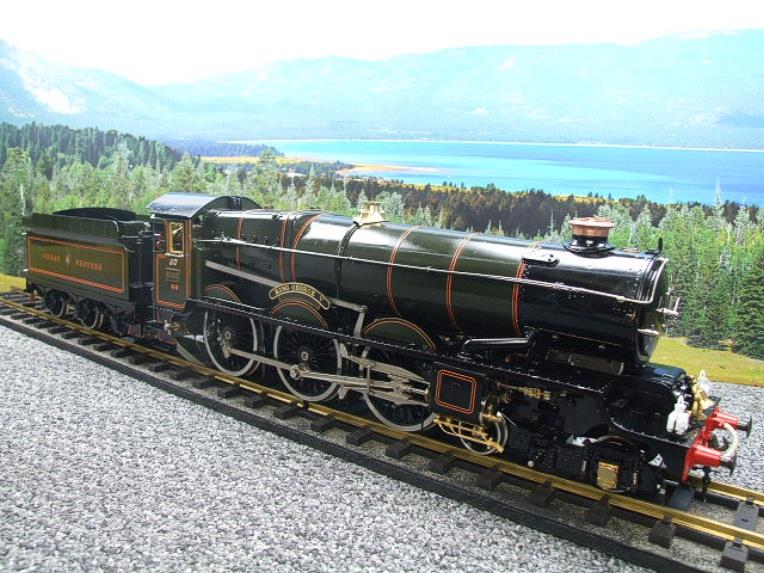 "Gauge 1 Aster GWR King Class ""King George V"" R/N 6000 Live Steam Boxed image 21"
