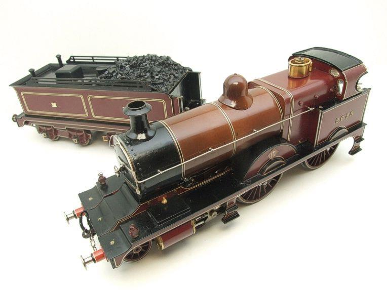"Gauge 1 Live Steam Brass MR ""Johnson Belpaire"" 4-4-0 Loco & Tender R/N 2633 image 11"