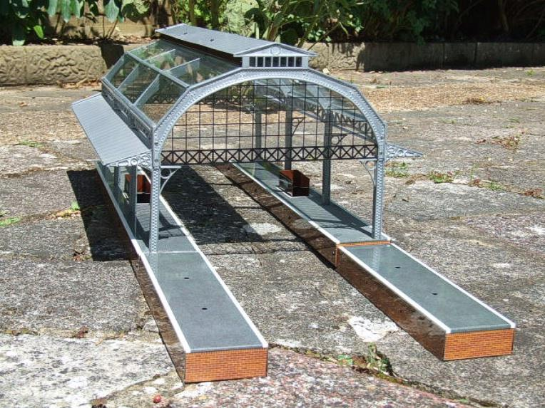 "Ace Trains O Gauge Fully Made up ""Station Canopy"" AC1 & AC 1A Extensions image 11"